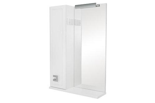 Miroir Mobis 55 avec armoire côté gauche