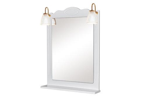 Miroir classique 65 Blanc