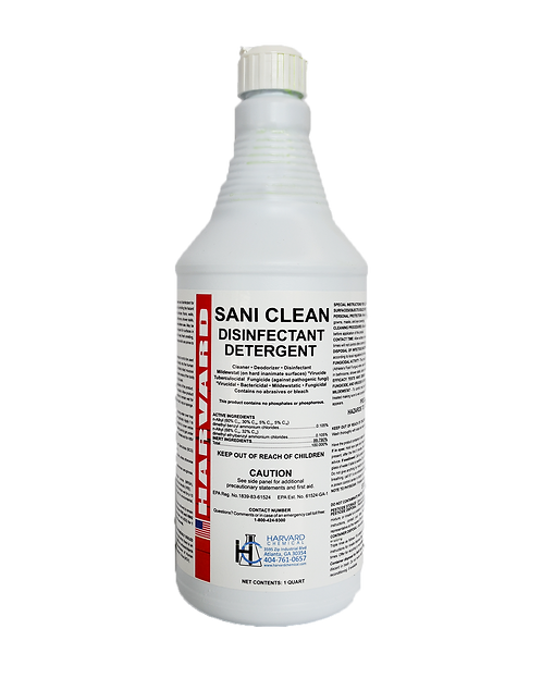 SANI CLEAN Disinfectant Cleaner - Qt.