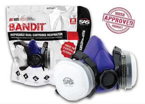 Bandit® Disposable Dual Cartridge OV/N95 Respirator