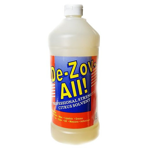 De-Zov-All - Citrus Solvent - 1 Qt.
