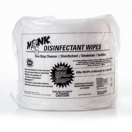 MONK  Gym Wipes - Disinfecting (case/4)