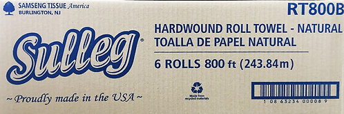 CASE - SULLEG Hard Wound Roll Towel - NATURAL