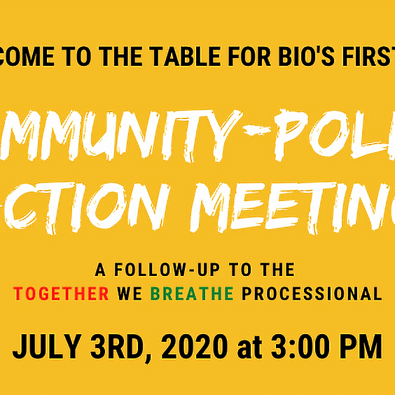 Community-Police Action Meeting