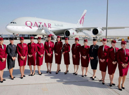 Qatar Airways com planos para dobrar participação junto a Latam