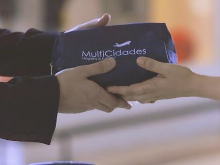 MultiCidades faz ação nos principais aeroportos de SP e RJ.