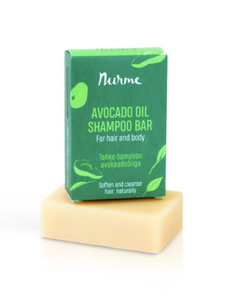 Avocado shampoo bar for Dark hair