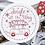 Thumbnail: Copri piatti lavabile (Taglia L)  - Auto di Natale