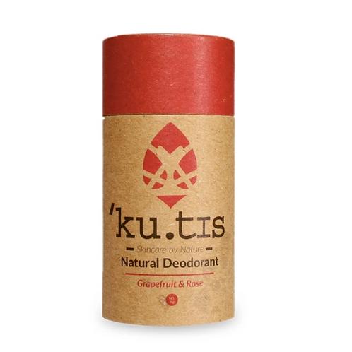 Kutis natural deodorant - Grapefruit & Rose