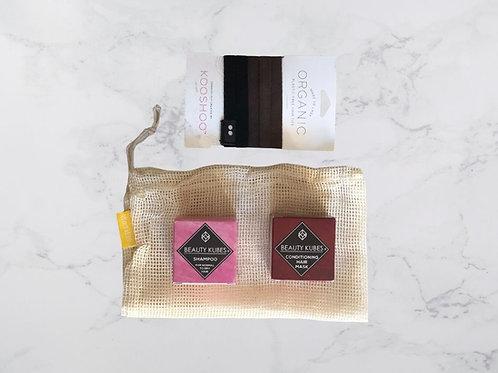 Zero Waste Hair Care Kit