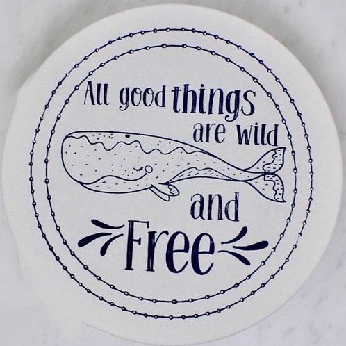 Copri piatti lavabile (Taglia M) - Libero e selvaggio