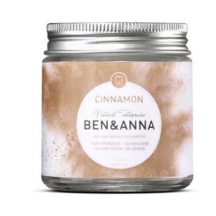 Ben & Anna Natural Toothpowder - Cinnamon
