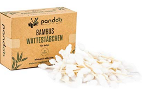 100% Bio Degradable Bamboo Buds - For Baby
