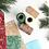 Thumbnail: Carta regalo con renne - Rossa