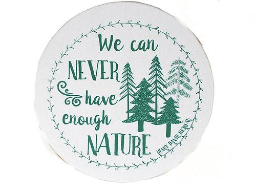 Copri piatti lavabile (Taglia L) - Natura