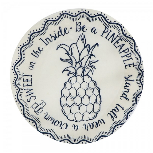 Copri piatti lavabile (Taglia S) - Ananas