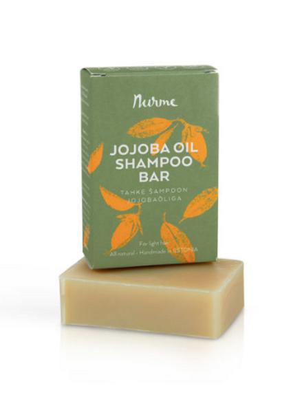 Jojoba shampoo bar for light hair