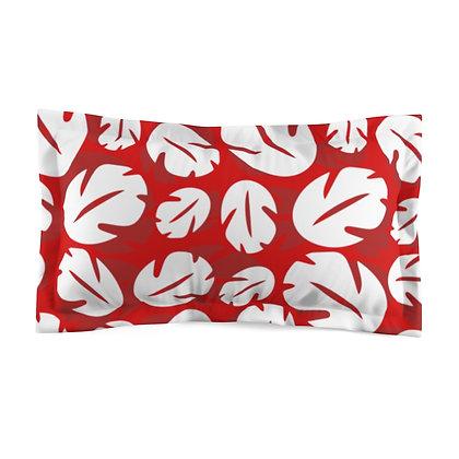 Ohana Pillow Sham  - Red
