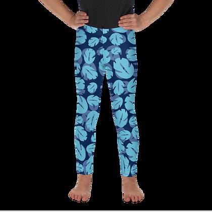 Ohana Kids Leggings - Blue