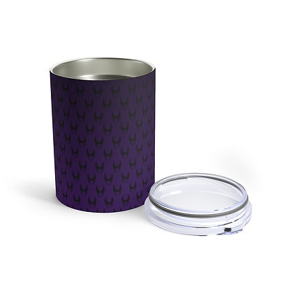 Wicked 10oz Tumbler  - Black/Purple