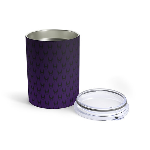 Wicked 10oz Tumbler  - Black/Purple