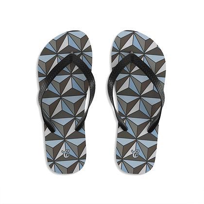 Imagination Flip-Flops - Silver