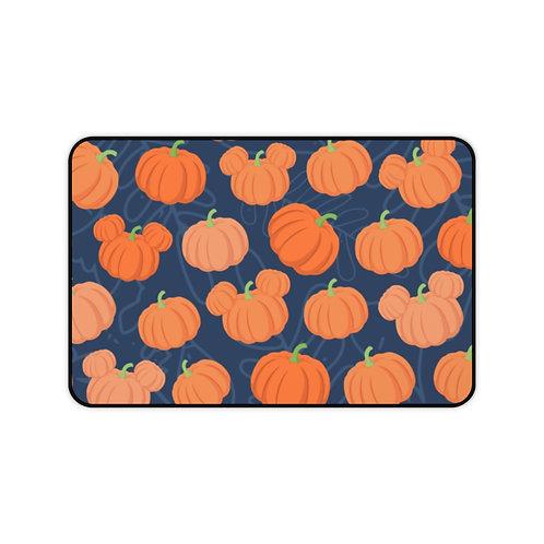 Pumpkin Patch Desk Mat - Navy