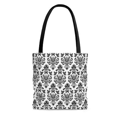 Happy Haunts Tote Bag - White
