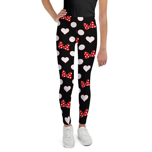 Rock Your Dots Youth Leggings - Black
