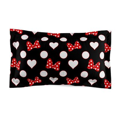 Rock Your Dots Pillow Sham  - Black
