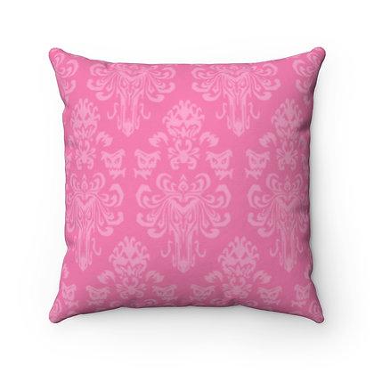 Happy Haunts Pillow Case - Dark Pink