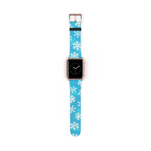 Snoap Flakes Apple Watch Band - Blue