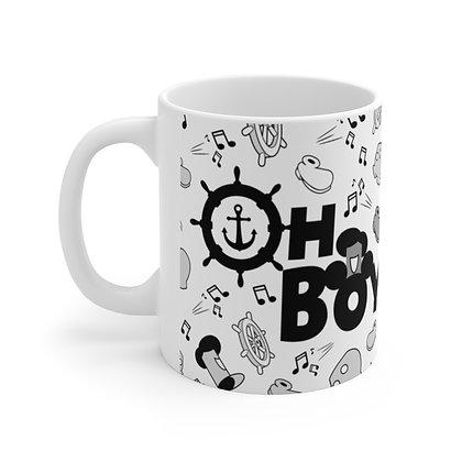 Oh Boy! 11oz Mug - White