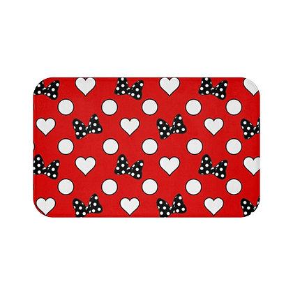 Rock Your Dots Floor Mat - Red