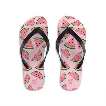 Watermelon Flip-Flops - Pink