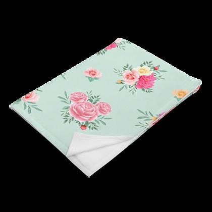 Flower & Garden Plush Blanket