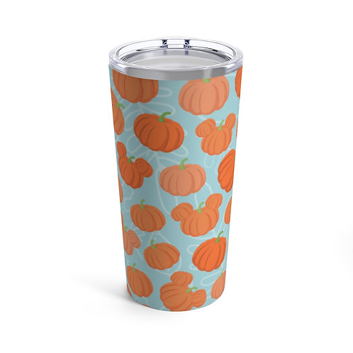 Pumpkin Patch 20oz Tumbler - Teal