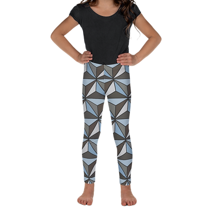 Imagination Kids Leggings - Silver