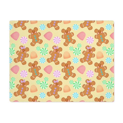 Gingerbread Placemat - Yellow