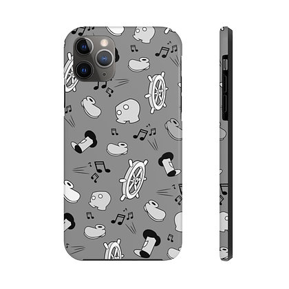 Steamboat Tough iPhone Case - Classic Gray