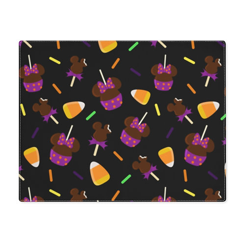Trick or Treats Placemat - Black
