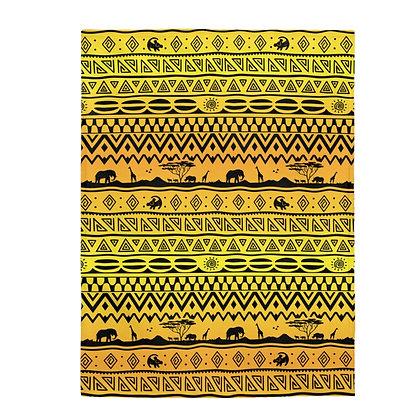 Asante Sana Plush Blanket  - Sunrise