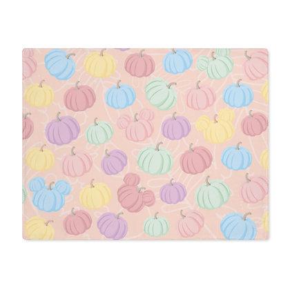 Pumpkin Patch Placemat - Pink