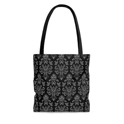 Happy Haunts Tote Bag - Black