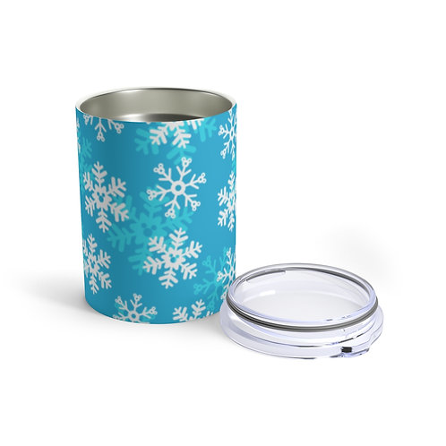 Snoap Flakes 10oz Tumbler - Blue