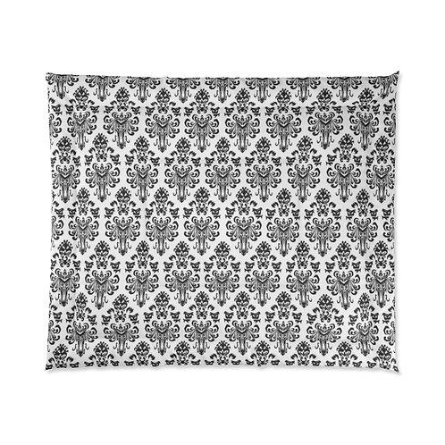 Happy Haunts Comforter  - White