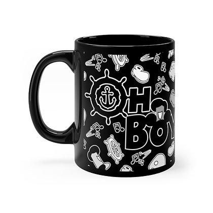 Oh Boy! 11oz Mug - Black