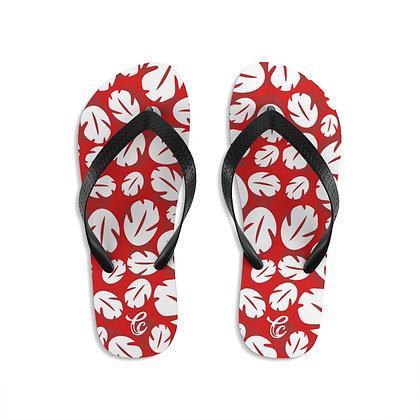 Ohana Flip-Flops - Red