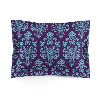 Happy Haunts Pillow Sham - Purple