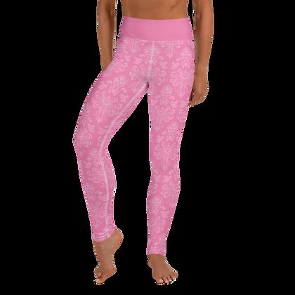 Happy Haunts Women's Leggings - Dark Pink
